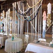 Decorazioni matrimoniali per tavoli