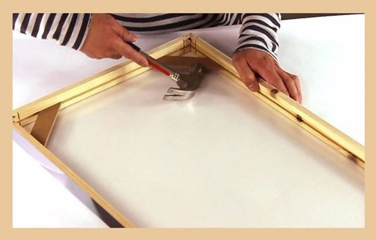 Cornice In Legno Fai Da Te Il Decoupage Cornice Bricolage