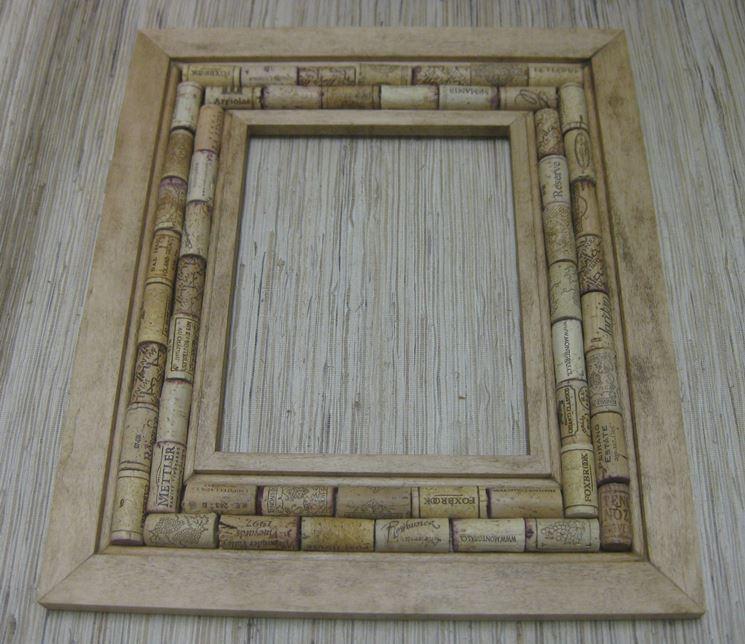 cornice in legno fai da te - il decoupage - cornice bricolage
