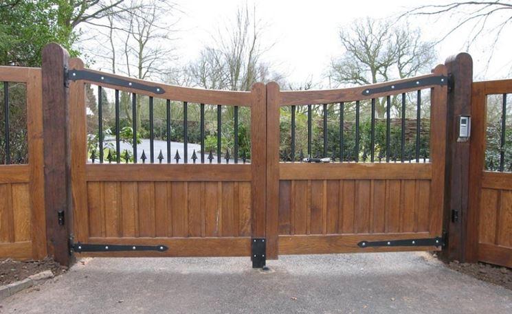 Cancelletto In Legno : Cancello in legno lavorare il legno recinzione