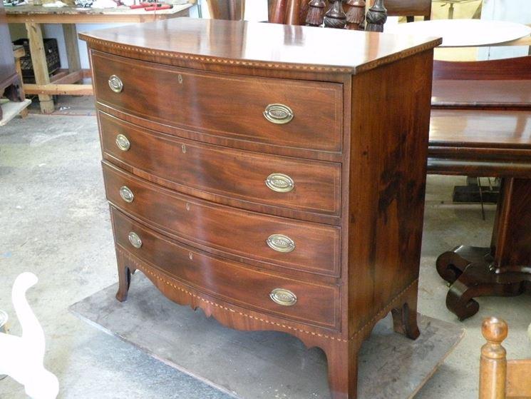 Come restaurare mobili antichi lavorare il legno - Restaurare un mobile in legno ...