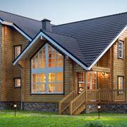 Abitazione in legno moderna