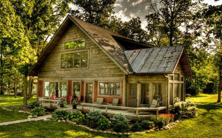 Cottage in legno