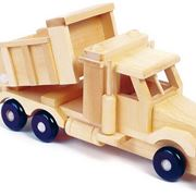 Camioncino in legno