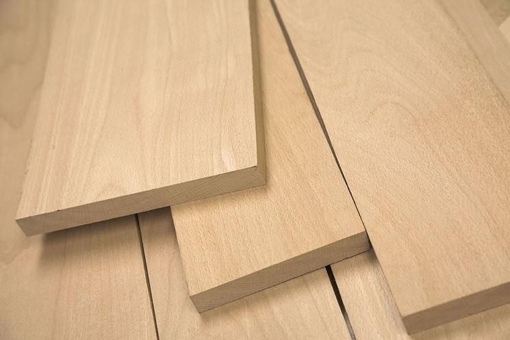 Assi legno faggio