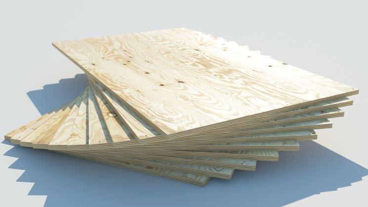 Tavole legno multistrato