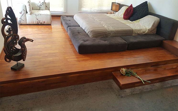 Pedana in legno teak