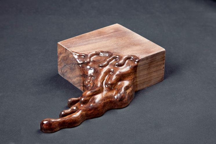 Esempio di legno liquido