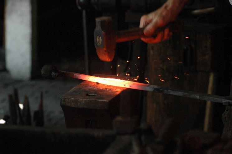 lavorazione del ferro battuto