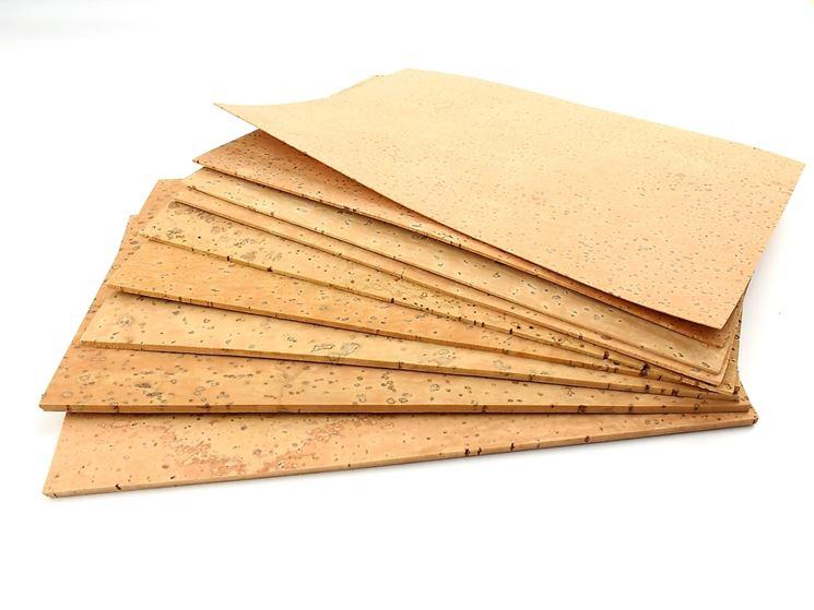 Lastre di sughero   materiali fai da te   impieghi delle lastre di ...