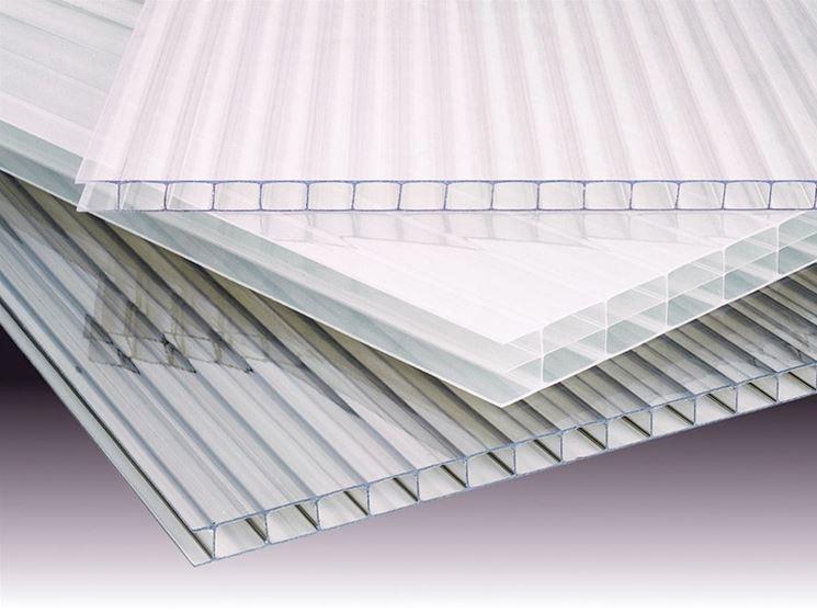 Lastre di policarbonato trasparente