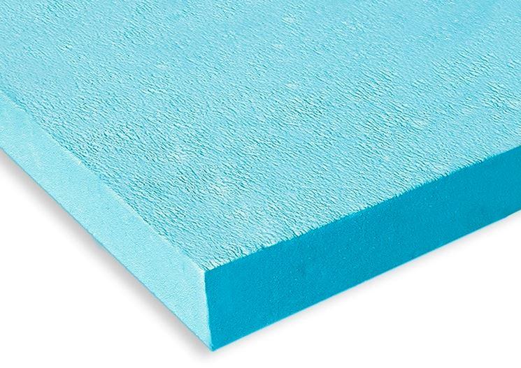 Pannello polistirene espanso estruso blu