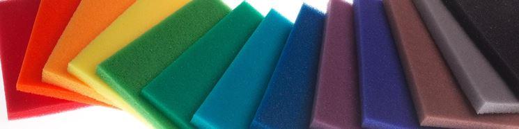 Pannelli di poliuretano di diverso colore