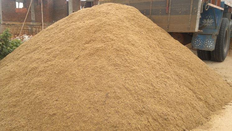 Sabbia di fiume materiali fai da te tipologie sabbia for Sabbia da giardino