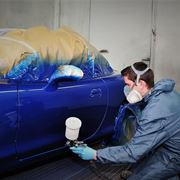 Verniciatura auto da restaurare