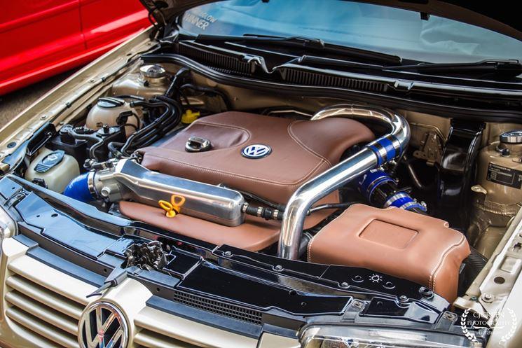 Motore di una macchina