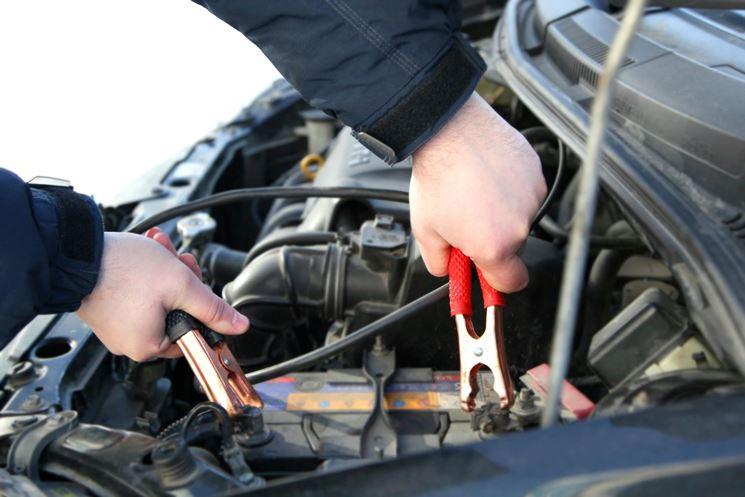 uso del caricabatterie auto