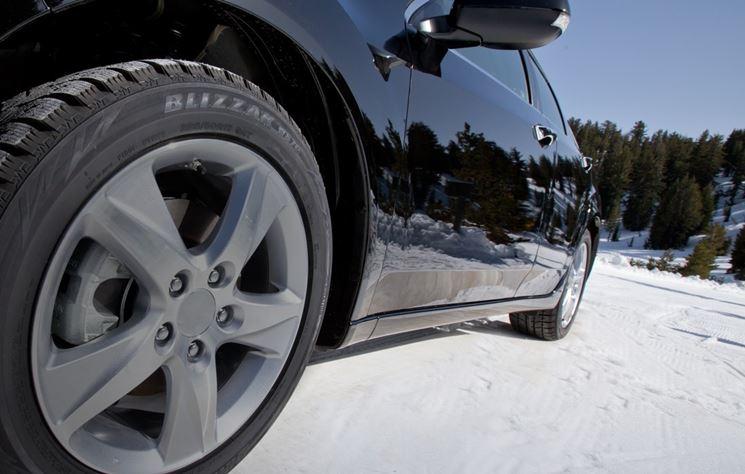 Auto ruote invernali