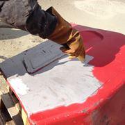 esempio di sabbiatura