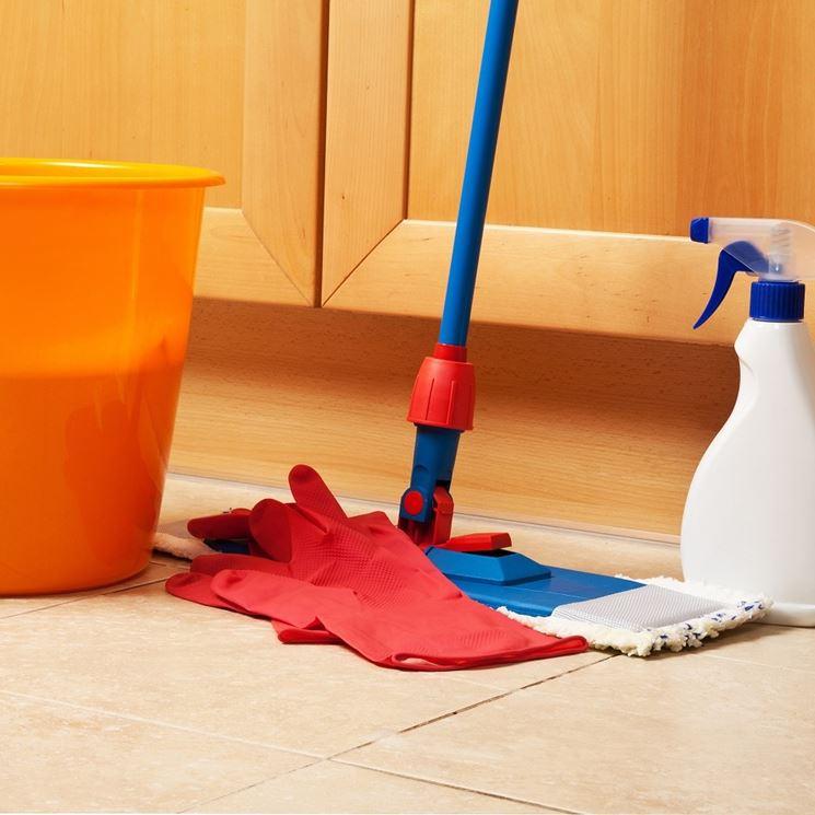 Pulizia pavimenti gres porcellanato - Pulizie di casa - Come pulire il gres porcellanato