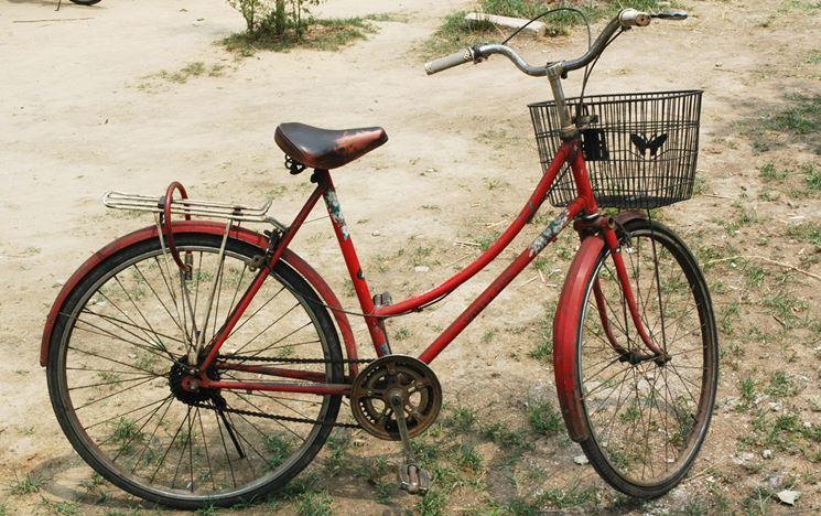 Bicicletta ristrutturare