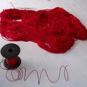 matassa di filo rosso