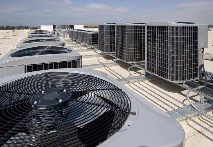 Impianto di aerazione e ventilazione