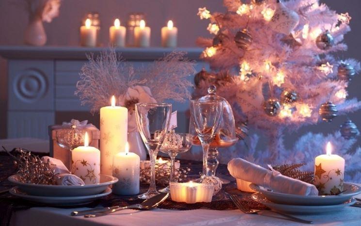 un Natale in bianco e argento