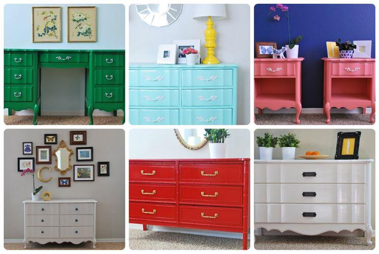 Come rinnovare mobili in laminato tecniche fai da te for Dipingere mobili laminato