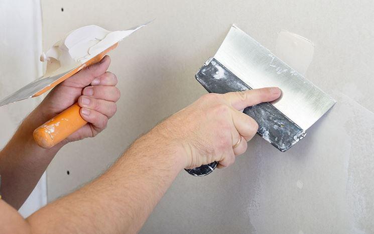 Applicazione stucco o gesso