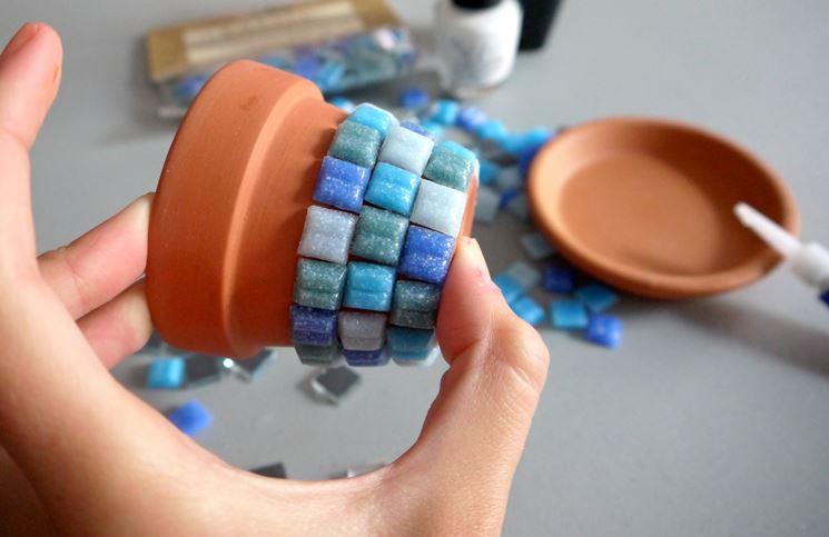 Mosaico vasetto