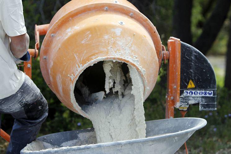 cemento preparazione