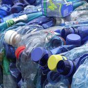 Bottiglie platica riciclabili