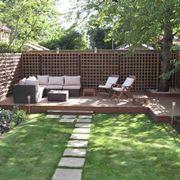 Angolo di relax in giardino