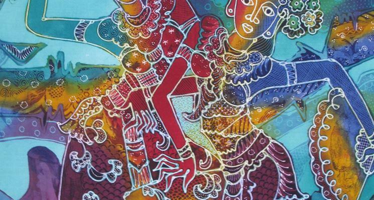 Tecnica colorazione batik