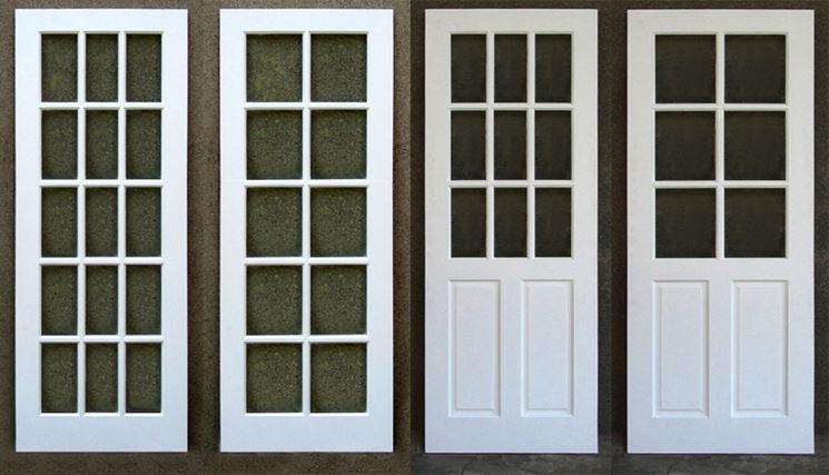 Porte con vetri vetro vari modelli di porte con vetri - Pellicola oscurante vetri casa ...