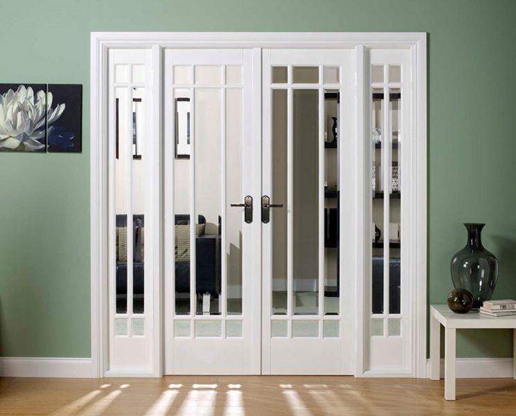 Porte in vetro per interni - Vetro - Materiale porta interni