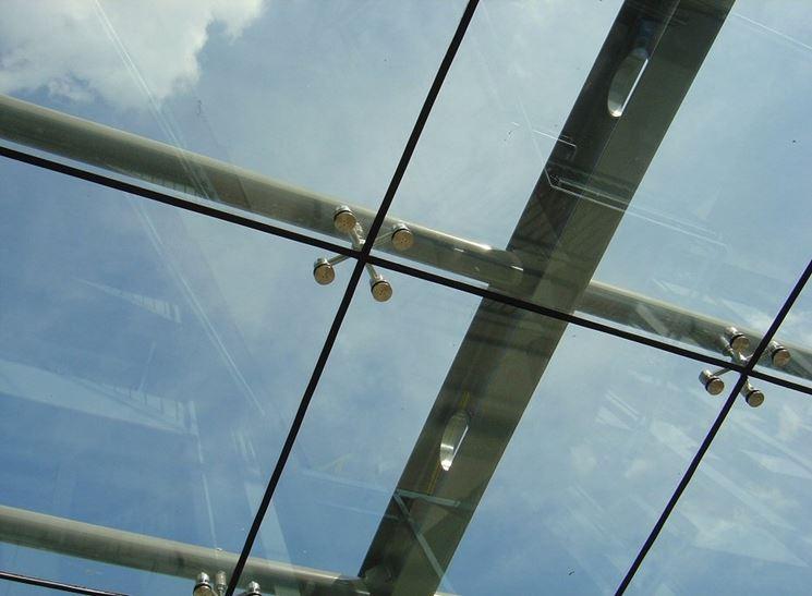 Esempio di vetri autopulenti