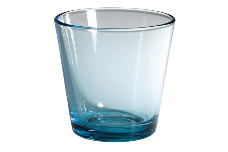 Bicchiere vetro blu