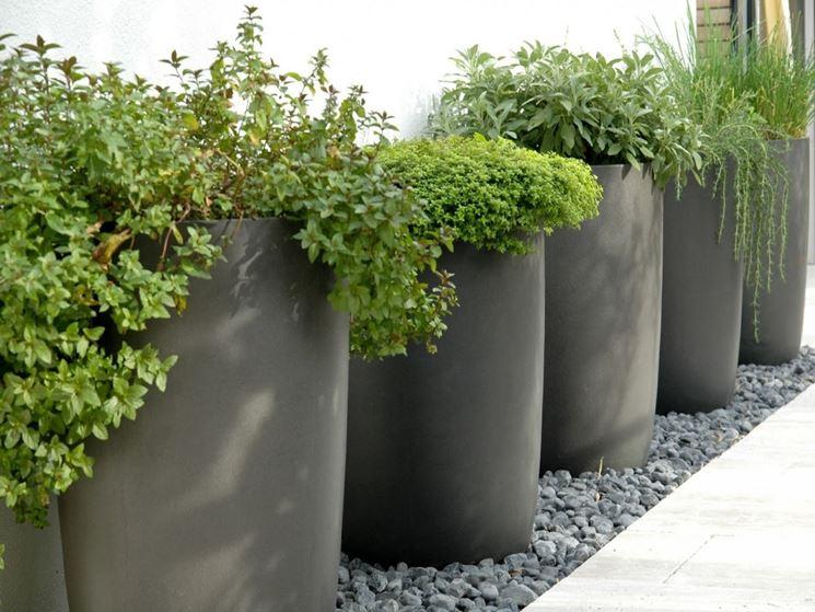 Fioriere in resina vasi da giardino vasi resina - Vasi in giardino ...