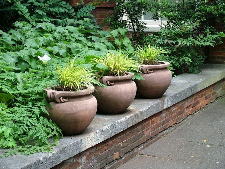 Vasi da esterno vasi da giardino varie tipologie di vasi da esterno - Vasi in ceramica da esterno ...