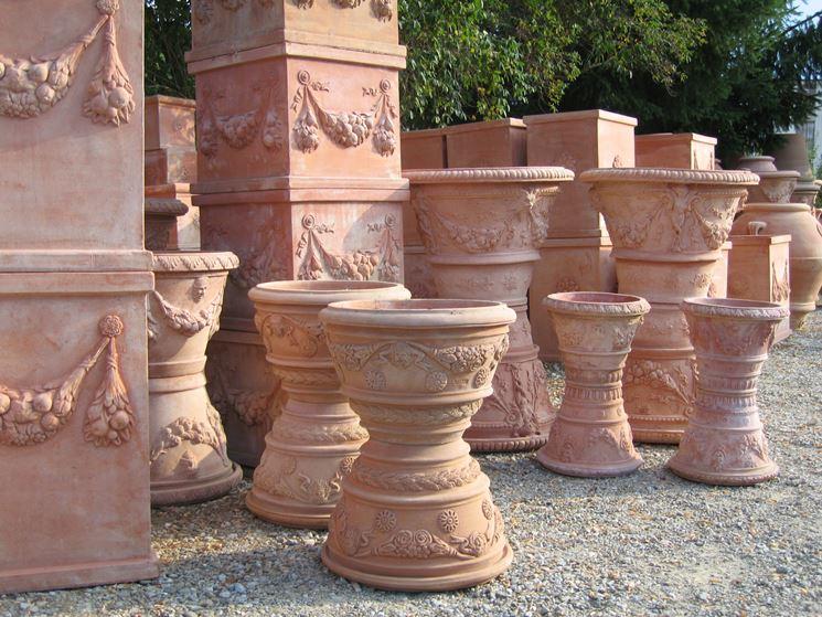 Vasi esterni vasi da giardino modelli vaso - Vasi terracotta da giardino ...