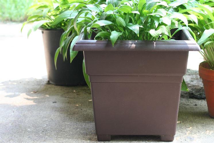 Vaso Esterno Grigio : Vasi in resina per esterni moderni. prezzo fioriere in resina with