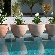 Vaso in resina, per il vostro giardino o piscina