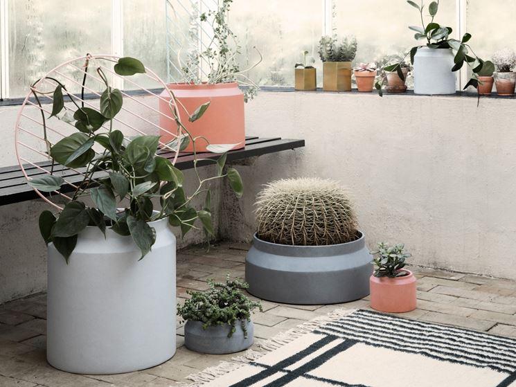 Vasi per fiori vasi da giardino tipi di vasi per fiori - Vasi ornamentali da interno ...