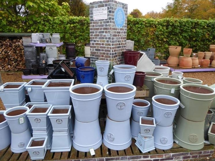 Tipologie di vasi in terracotta
