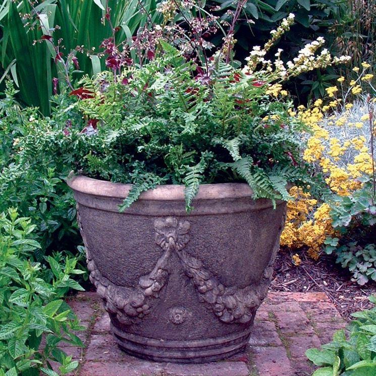Vasi decorativi da giardino fioriere con le mani per il - Rami decorativi per vasi ...