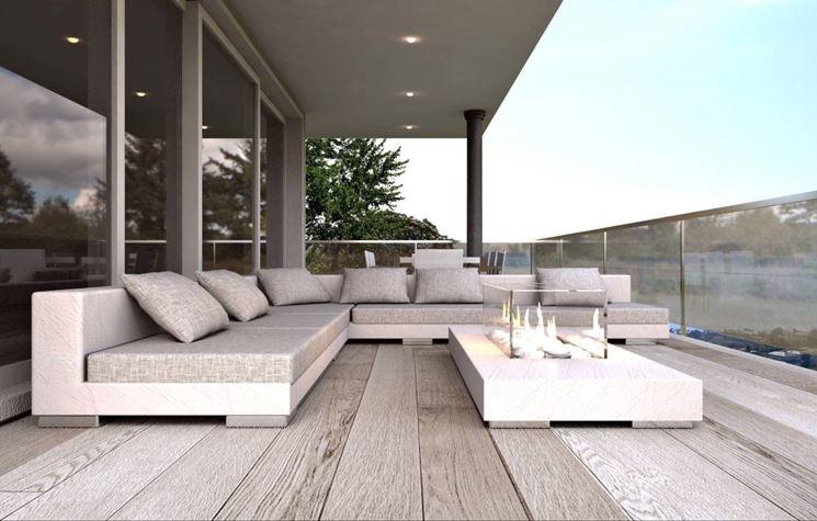Arredamenti per terrazzi arredo giardino for Arredamenti esterni per terrazzi