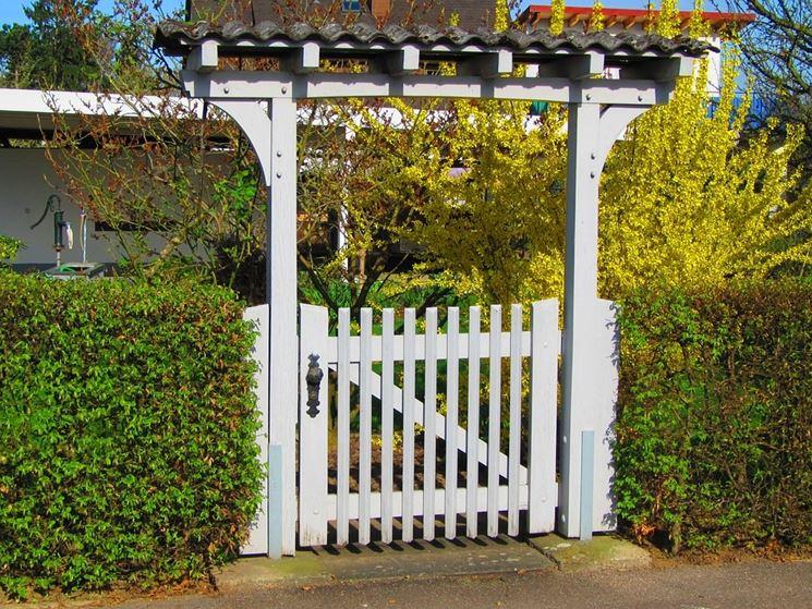 Cancelli in legno fai da te   arredo giardino   realizzare ...