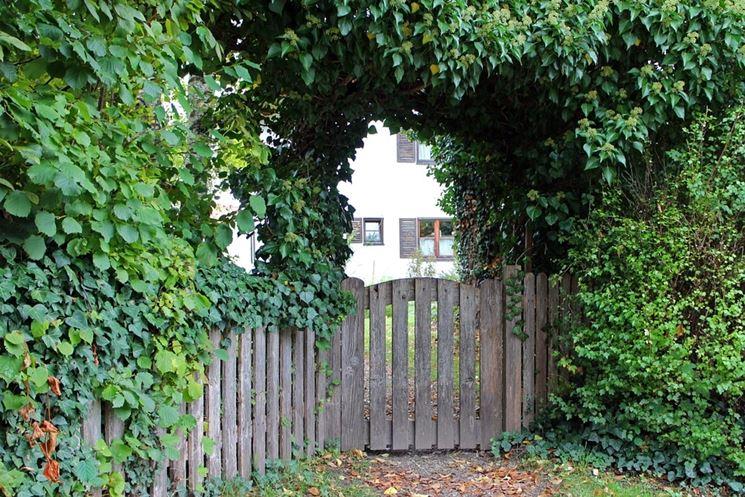 Cancello per giardino